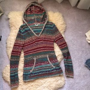 Roxy boho hooded sweater